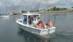 Deep Sea Fishing Boat